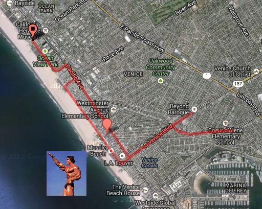 Enjoy my sophisticated mapping skills. And Arnold's muscles.