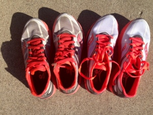 Picture of saucony kinvara 4s